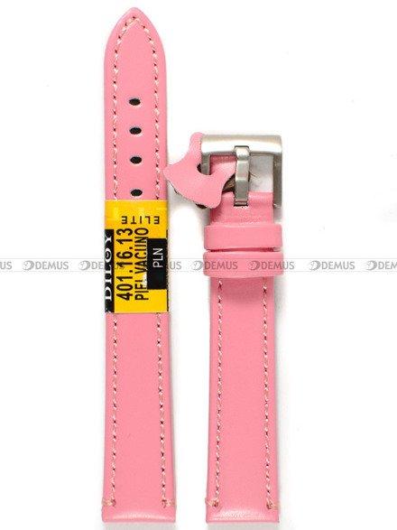 Pasek skórzany do zegarka - Diloy 401.16.13 - 16 mm