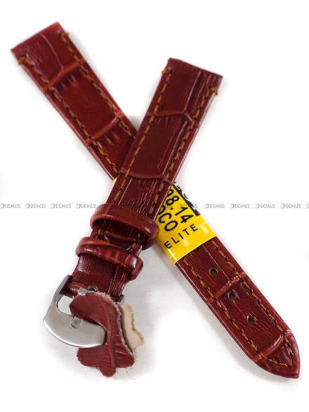 Pasek skórzany do zegarka - Diloy 402.14.8 - 14 mm