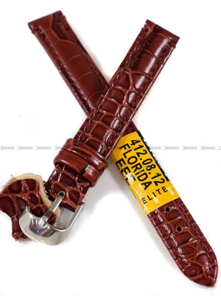 Pasek skórzany do zegarka - Diloy 412.12.8 - 12 mm
