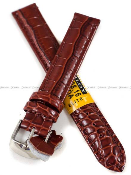 Pasek skórzany do zegarka - Diloy 412.16.8 - 16 mm