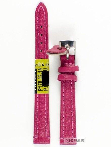 Pasek skórzany do zegarka - Diloy P178.12.14 - 12 mm
