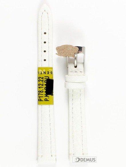 Pasek skórzany do zegarka - Diloy P178.12.22 - 12 mm