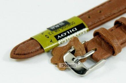 Pasek skórzany do zegarka - Diloy P205.12.8 - 12 mm