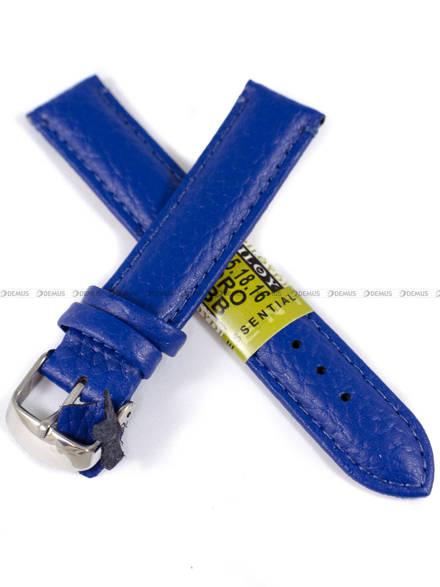 Pasek skórzany do zegarka - Diloy P205.18.16 - 18mm