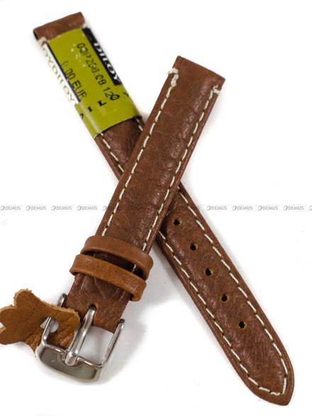 Pasek skórzany do zegarka - Diloy P206.12.8 - 12 mm