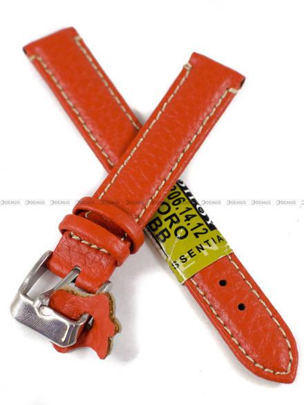 Pasek skórzany do zegarka - Diloy P206.14.12 - 14 mm