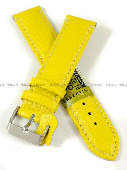 Pasek skórzany do zegarka - Diloy P206.20.10 - 20 mm