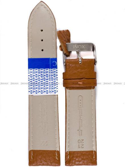 Pasek skórzany do zegarka - Diloy P206.22.3 - 22mm