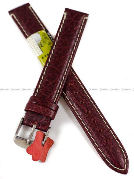 Pasek skórzany do zegarka - Diloy P206EL.16.4 - 16 mm