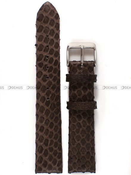 Pasek skórzany do zegarka - Diloy P347.18.2 - 18 mm
