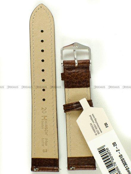 Pasek skórzany do zegarka - Hirsch Boston 01302010-2-20 - 20 mm