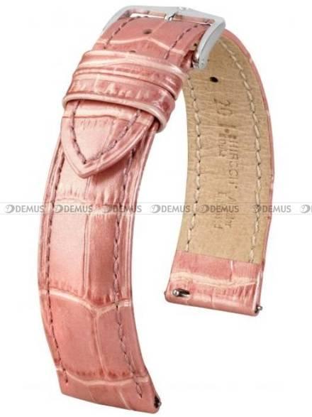 Pasek skórzany do zegarka - Hirsch Duke Metallic 01027122-2-18 - 18 mm - M