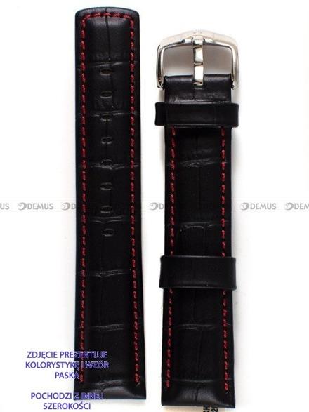 Pasek skórzany do zegarka - Hirsch Grand Duke XL 02528250-2-24 - 24 mm
