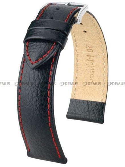 Pasek skórzany do zegarka - Hirsch Kansas 01502051-2-20 - 20 mm