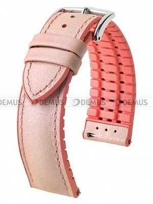 Pasek skórzany do zegarka - Hirsch Lindsey 0922302122-2-20 - 20 mm
