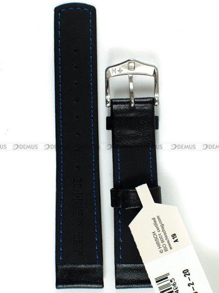 Pasek skórzany do zegarka - Hirsch Runner 04002050-2-20 - 20 mm