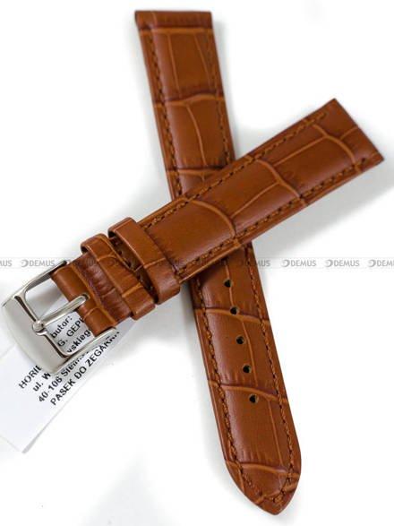Pasek skórzany do zegarka - Horido 0189.03.18S - 18 mm
