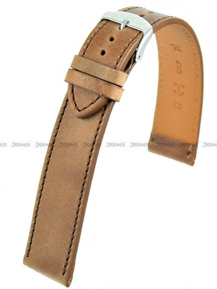 Pasek skórzany do zegarka - Horido 9201SL.03.22S - 22 mm