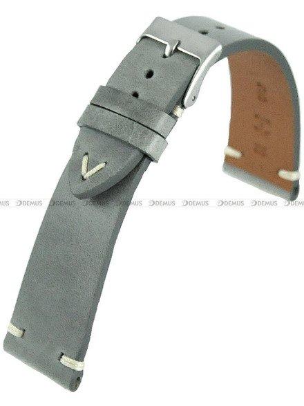 Pasek skórzany do zegarka - Horido 9450.07.24S - 24 mm - Zwężany