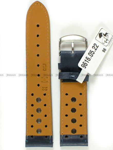 Pasek skórzany do zegarka - Horido 9616.05.22S - 22 mm