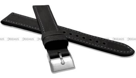 Pasek skórzany do zegarka - LAVVU LSAXB20 - 20 mm - XXL