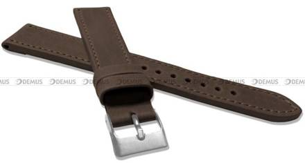 Pasek skórzany do zegarka - LAVVU LSAXC20 - 20 mm - XXL