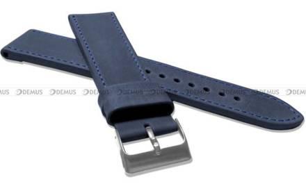 Pasek skórzany do zegarka - LAVVU LSAXL24 - 24 mm - XXL
