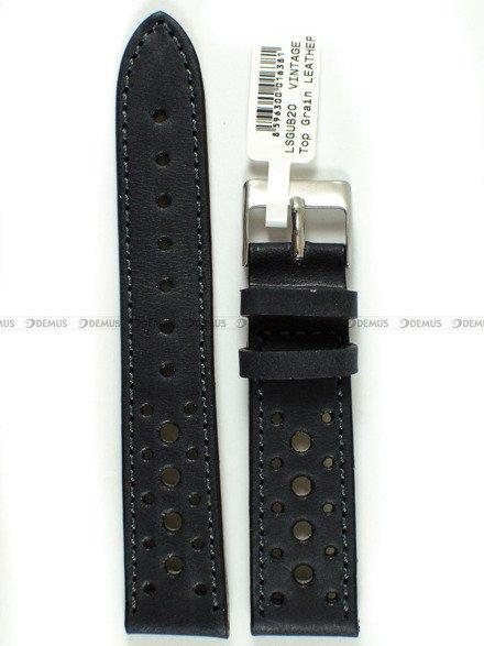 Pasek skórzany do zegarka - LAVVU LSGUB20 - 20 mm