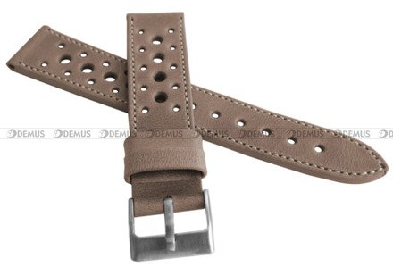 Pasek skórzany do zegarka - LAVVU LSGUF22 - 22 mm