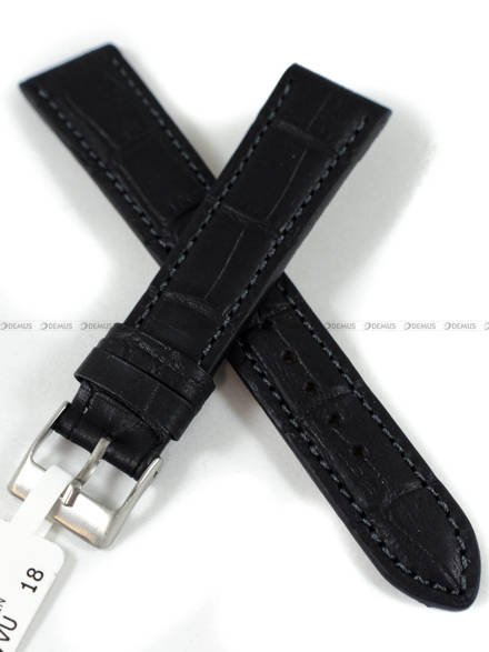 Pasek skórzany do zegarka - LAVVU LSIUB18 - 18 mm