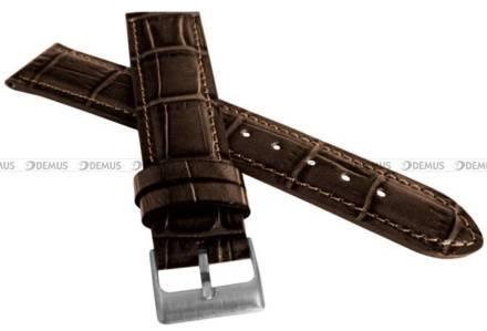 Pasek skórzany do zegarka - LAVVU LSIUC18 - 18 mm