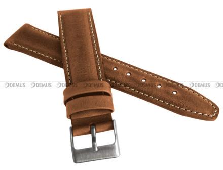 Pasek skórzany do zegarka - LAVVU LSKUE24 - 24 mm