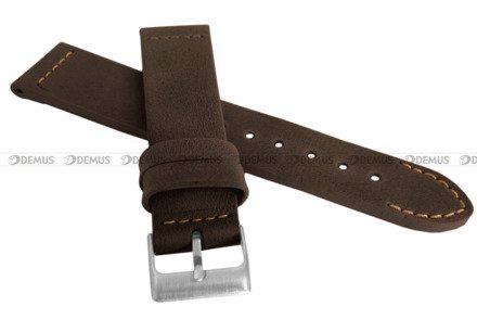 Pasek skórzany do zegarka - LAVVU LSLUC22 - 22 mm