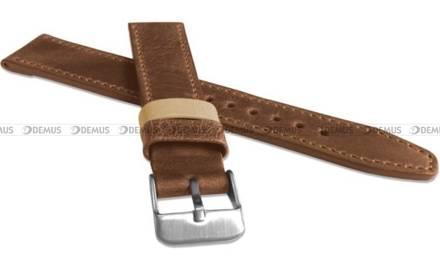 Pasek skórzany do zegarka - LAVVU LSOUE18 - 18 mm