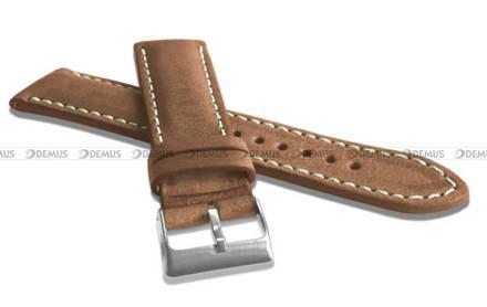 Pasek skórzany do zegarka - LAVVU LSRUD22 - 22 mm