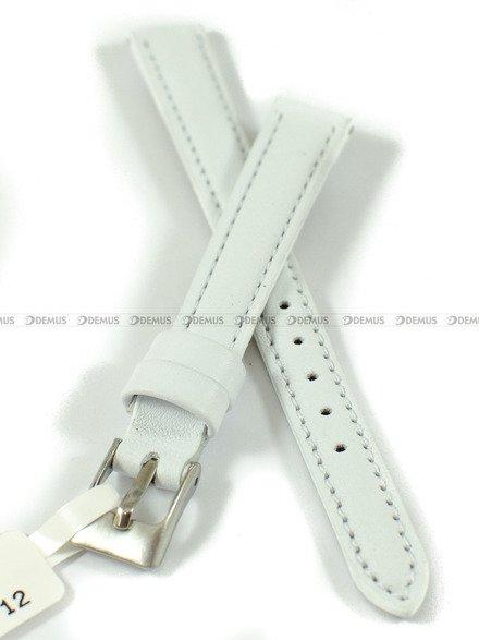 Pasek skórzany do zegarka - Minet MSBUW12 - 12 mm