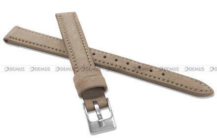 Pasek skórzany do zegarka - Minet MSNUC12 - 12 mm