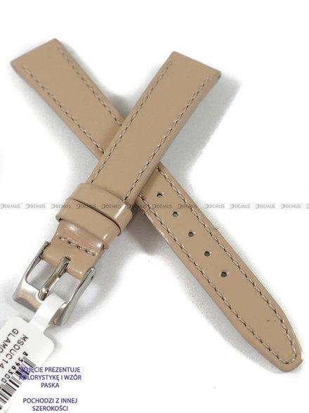 Pasek skórzany do zegarka - Minet MSOUC20 - 20 mm