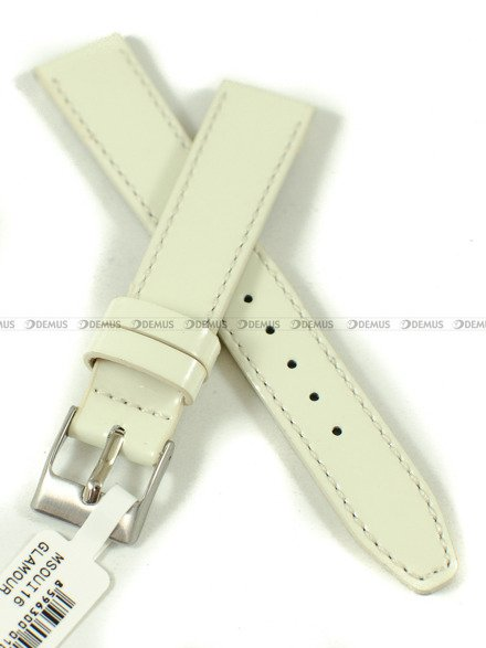 Pasek skórzany do zegarka - Minet MSOUI16 - 16 mm
