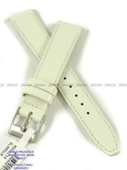 Pasek skórzany do zegarka - Minet MSOUI20 - 20 mm