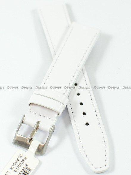 Pasek skórzany do zegarka - Minet MSOUW20 - 20 mm