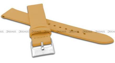 Pasek skórzany do zegarka - Minet MSSUO20 - 20 mm