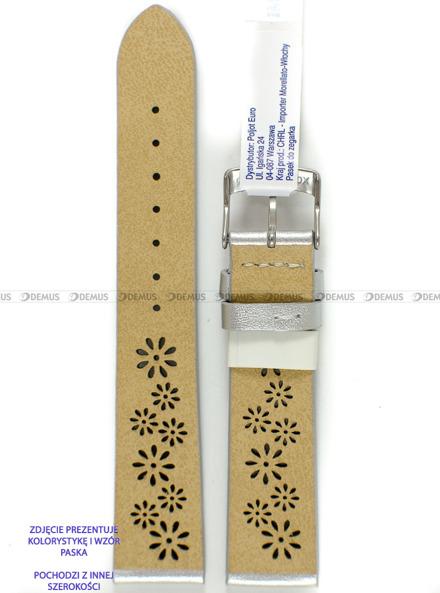 Pasek skórzany do zegarka - Morellato A01D5256C47012CR16 - 16 mm