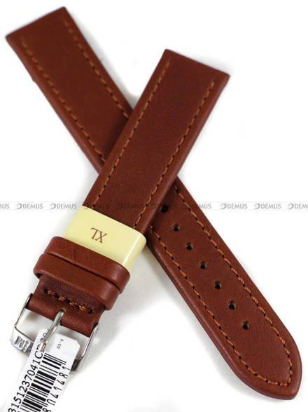 Pasek skórzany do zegarka - Morellato A01K3151237041CR20 - 20 mm - XL