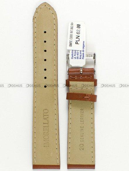 Pasek skórzany do zegarka - Morellato A01U0969087037 20mm