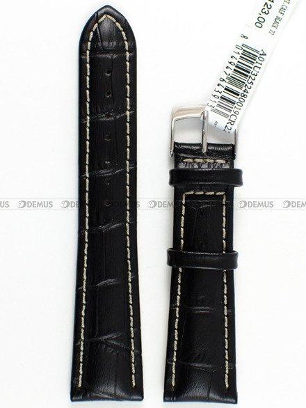 Pasek skórzany do zegarka - Morellato A01U3252480019 - 22 mm