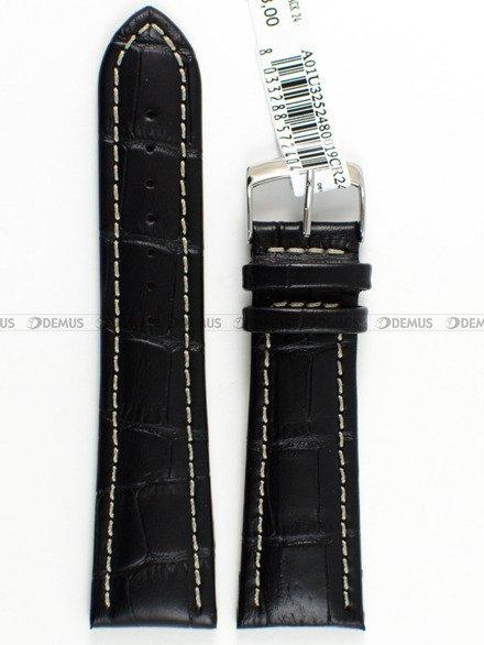 Pasek skórzany do zegarka - Morellato A01U3252480019 - 24 mm