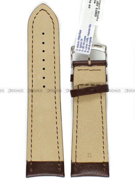 Pasek skórzany do zegarka - Morellato A01U4026A37034 26mm