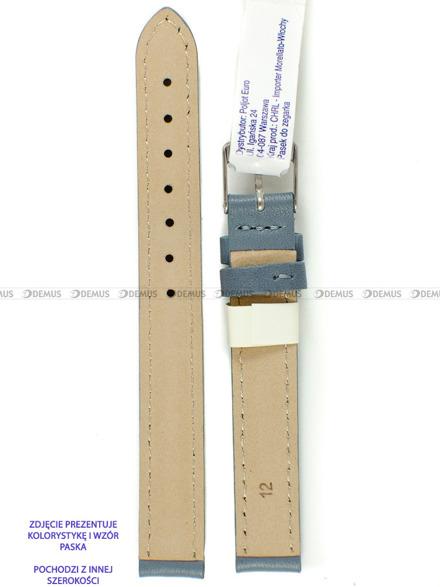 Pasek skórzany do zegarka - Morellato A01X0969087093CR18 - 18 mm