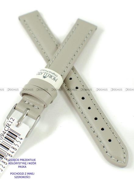 Pasek skórzany do zegarka - Morellato A01X0969087094CR14 - 14 mm